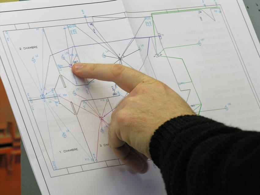 Fabrication de votre installation lectrique pieuvre lectrique tableau le - Installation electrique appartement ...